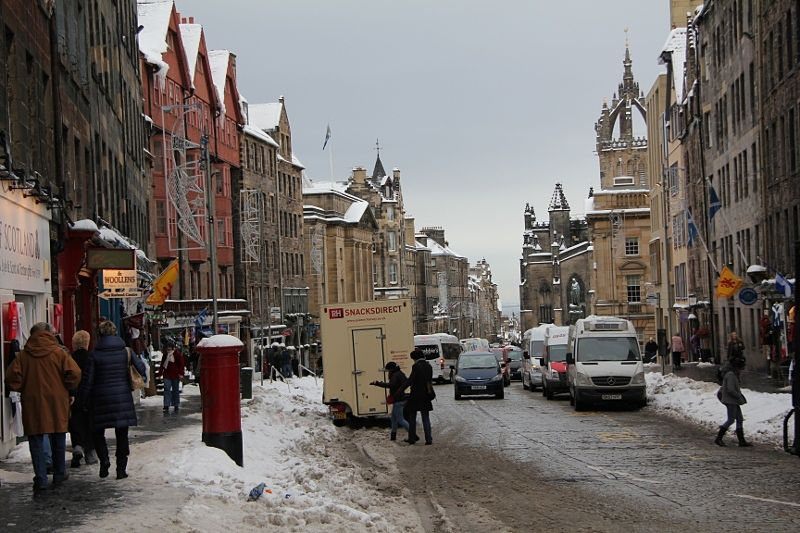 Edinburgh trip cancellation