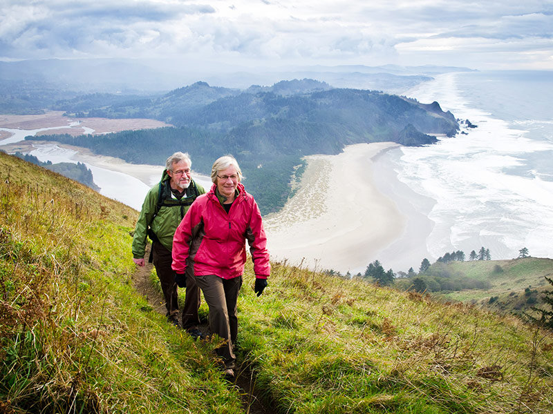active seniors hiking travel bucket list