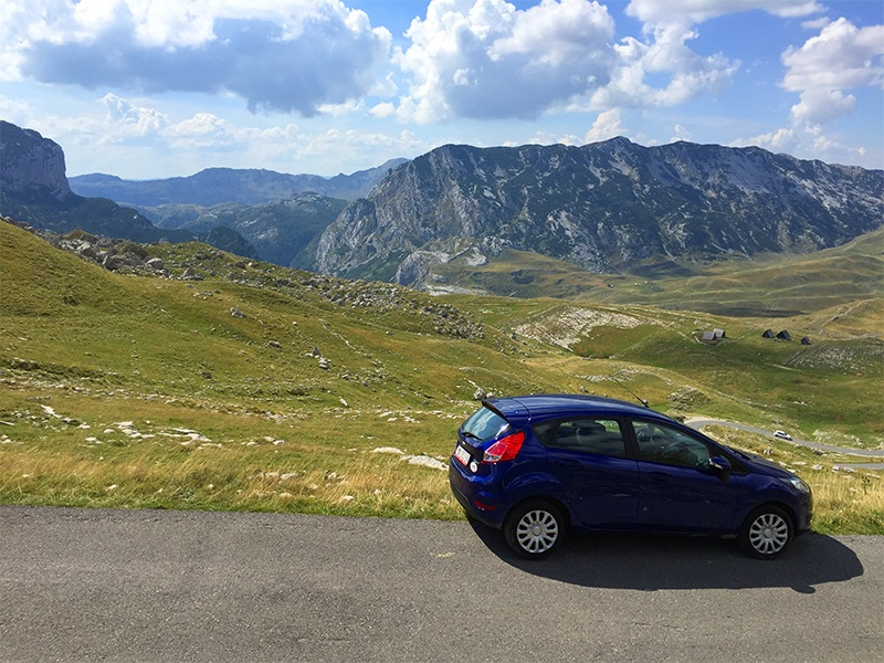 Montenegro by car