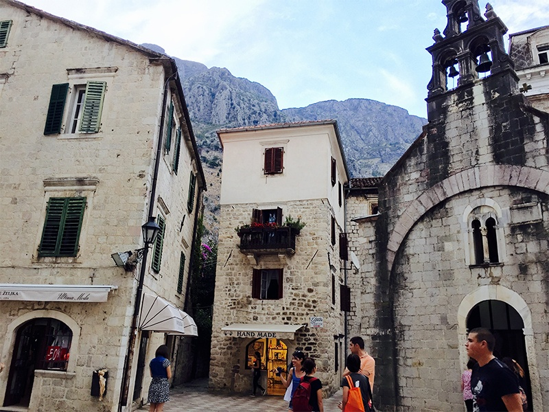 Kotor walled city
