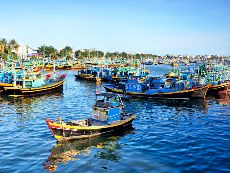 phan thiet fishing village vietnam
