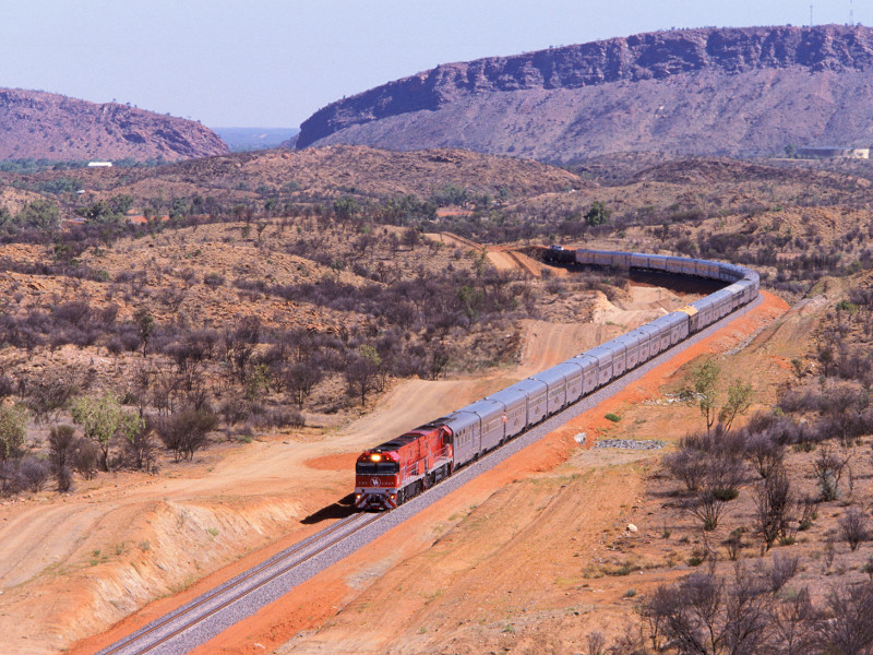the ghan Australia luxury train travel