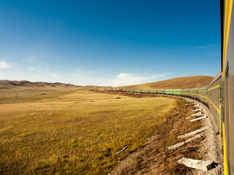 trans Siberian express train travel Russia travel by train in Russia