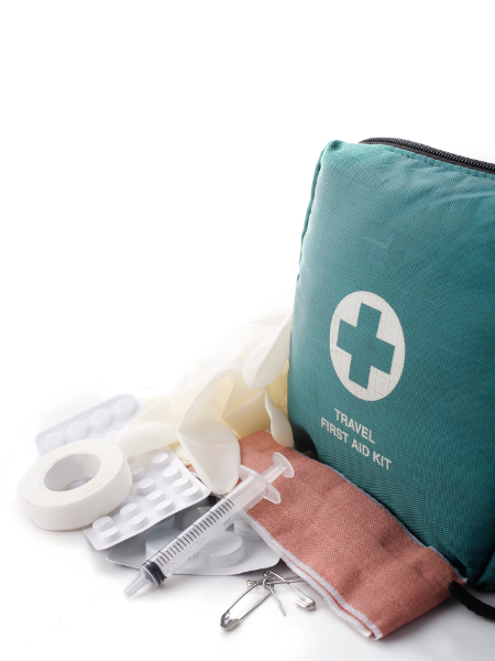 emergency health travel kit
