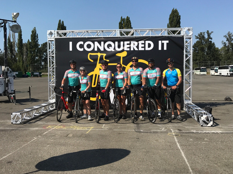 ride to conquer cancer bc
