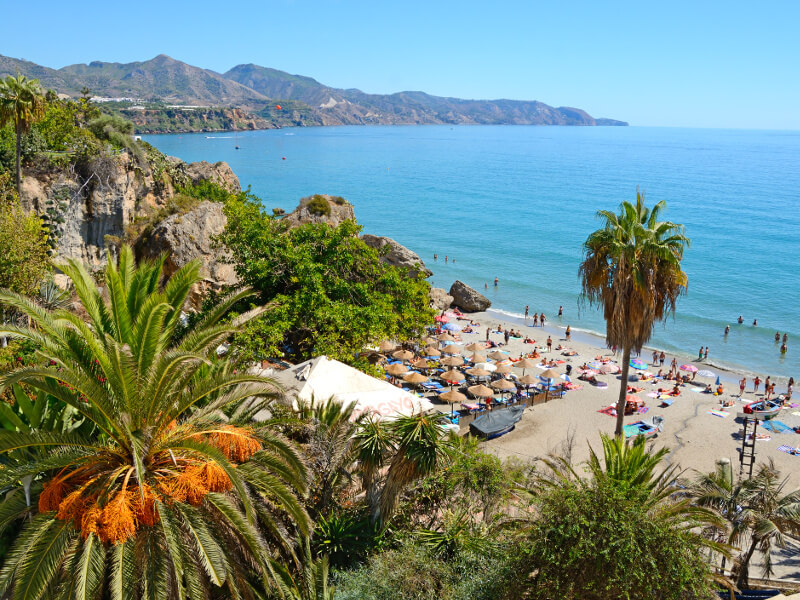 The endless blue waters of the Mediterranean sea are sure to beat those winter blues.