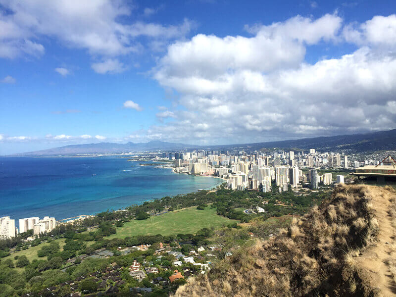 As the closest hike to Waikiki, Diamond Head is a convenient, relatively short hike for everyone in the family.