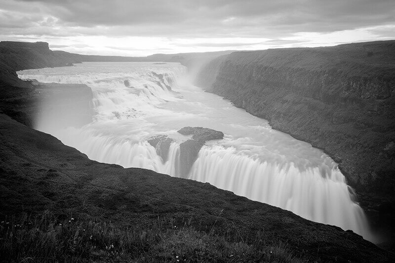 Photo Gulfoss Islande