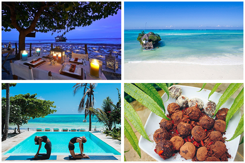 Zanzibar wellness yoga retreat