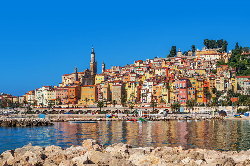 Menton French Riviera France