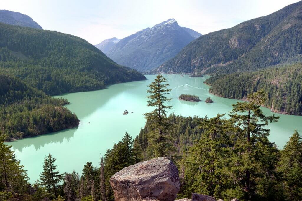 Ross Lake in North Cascades National Park