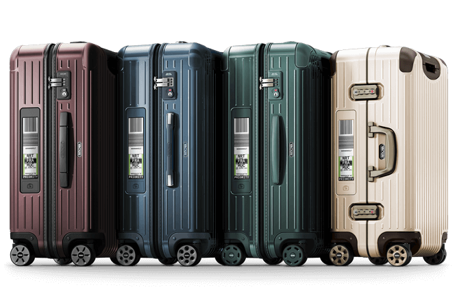Rimowa auto check in luggage