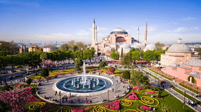 Hagia Sophia tourist attraction