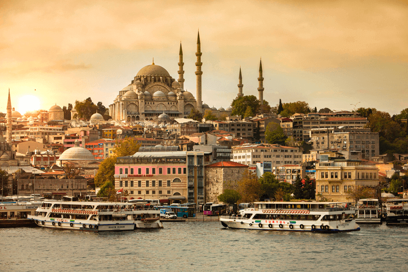 Istanbul Turkey by the water
