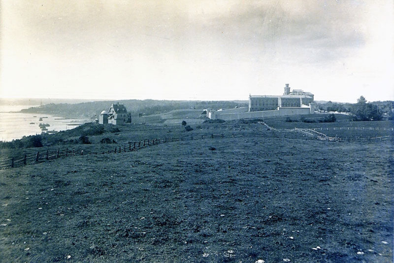 View of the Plains of Abraham