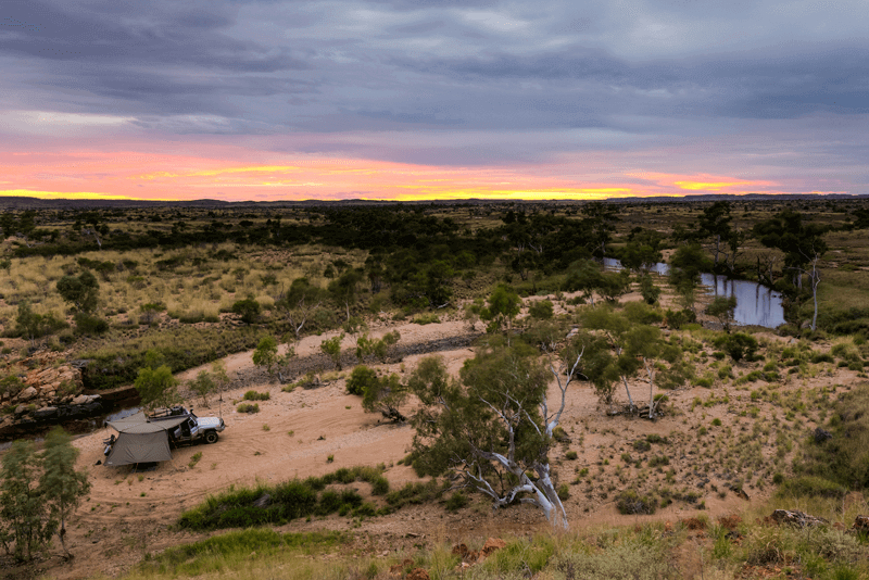 What better way to experience the Australian outback, than by camping.