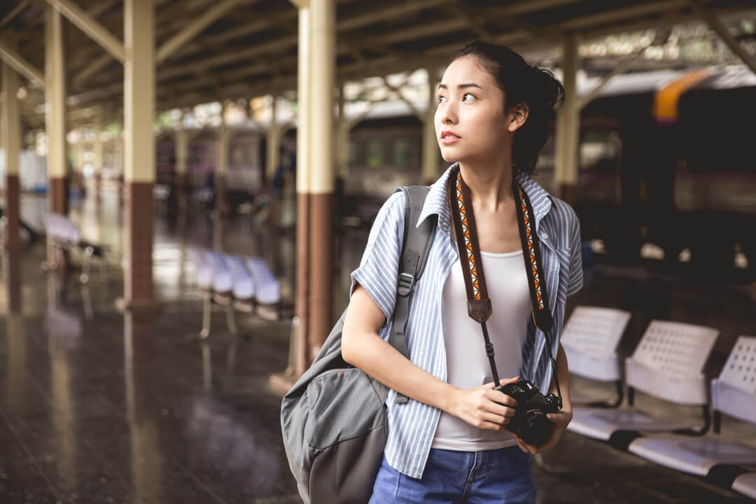 Young Asian Traveller
