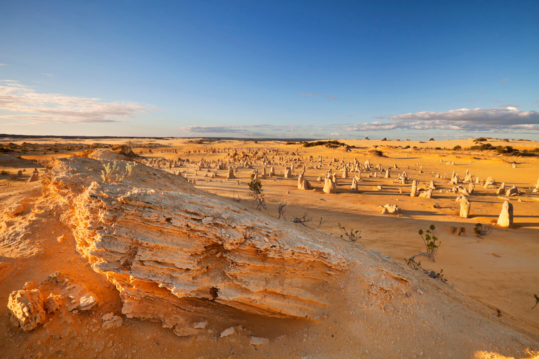 Sunset over the Pinnacles Desert, Nambung National Park, Australia