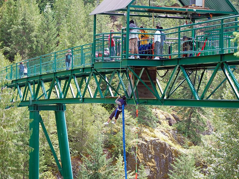 bungee jumping adventure whistler,bc